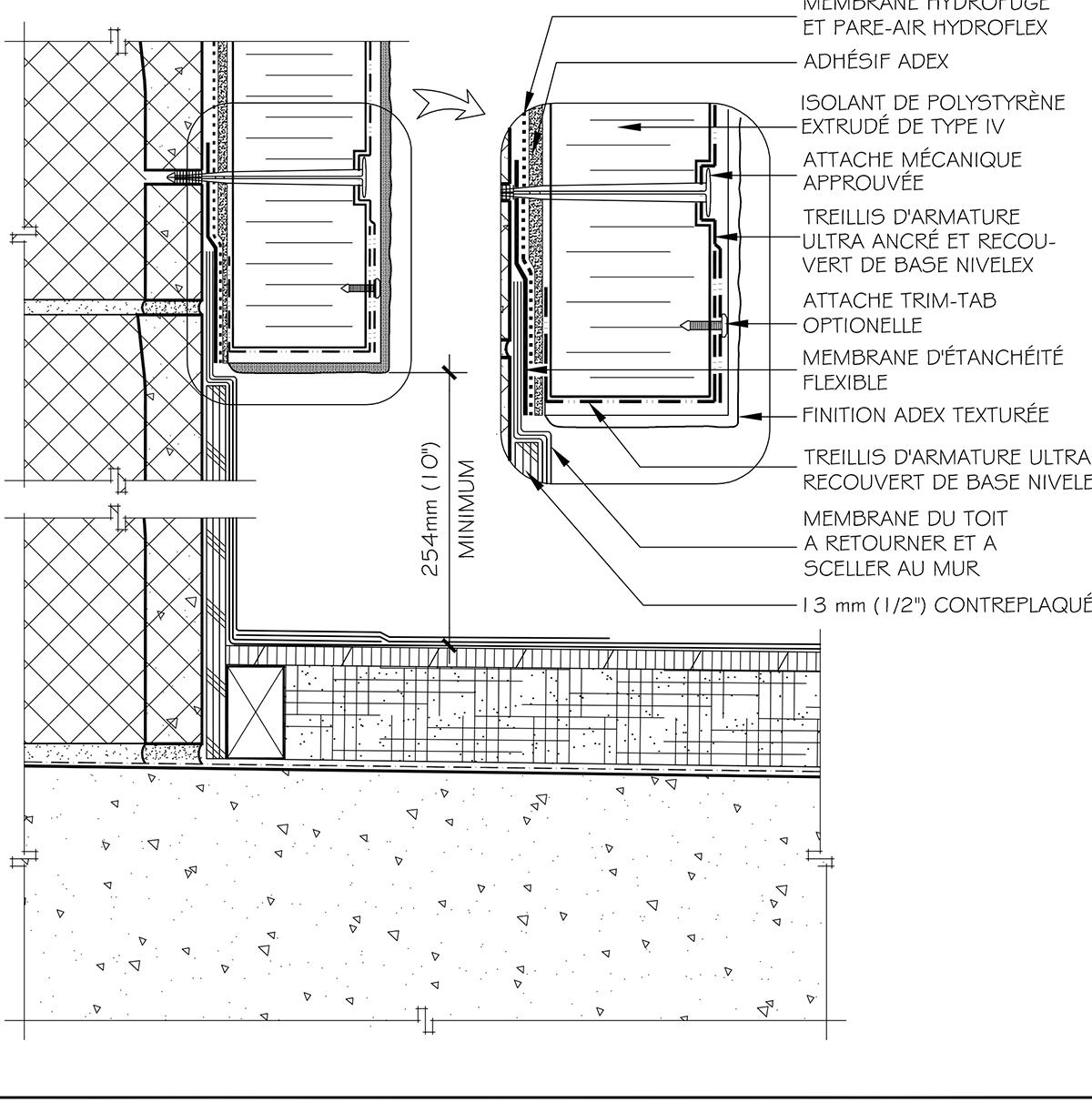 Different Type De Mur adex-ici-hc-fr-9a-jonction-toit-mur - adex