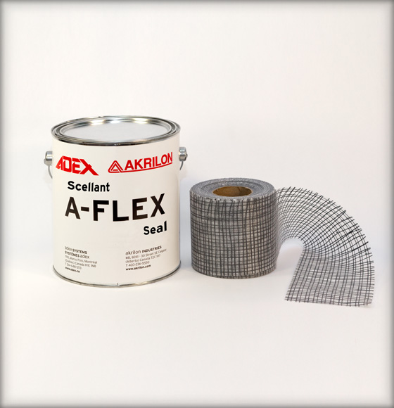 A-Flex sealant and mesh