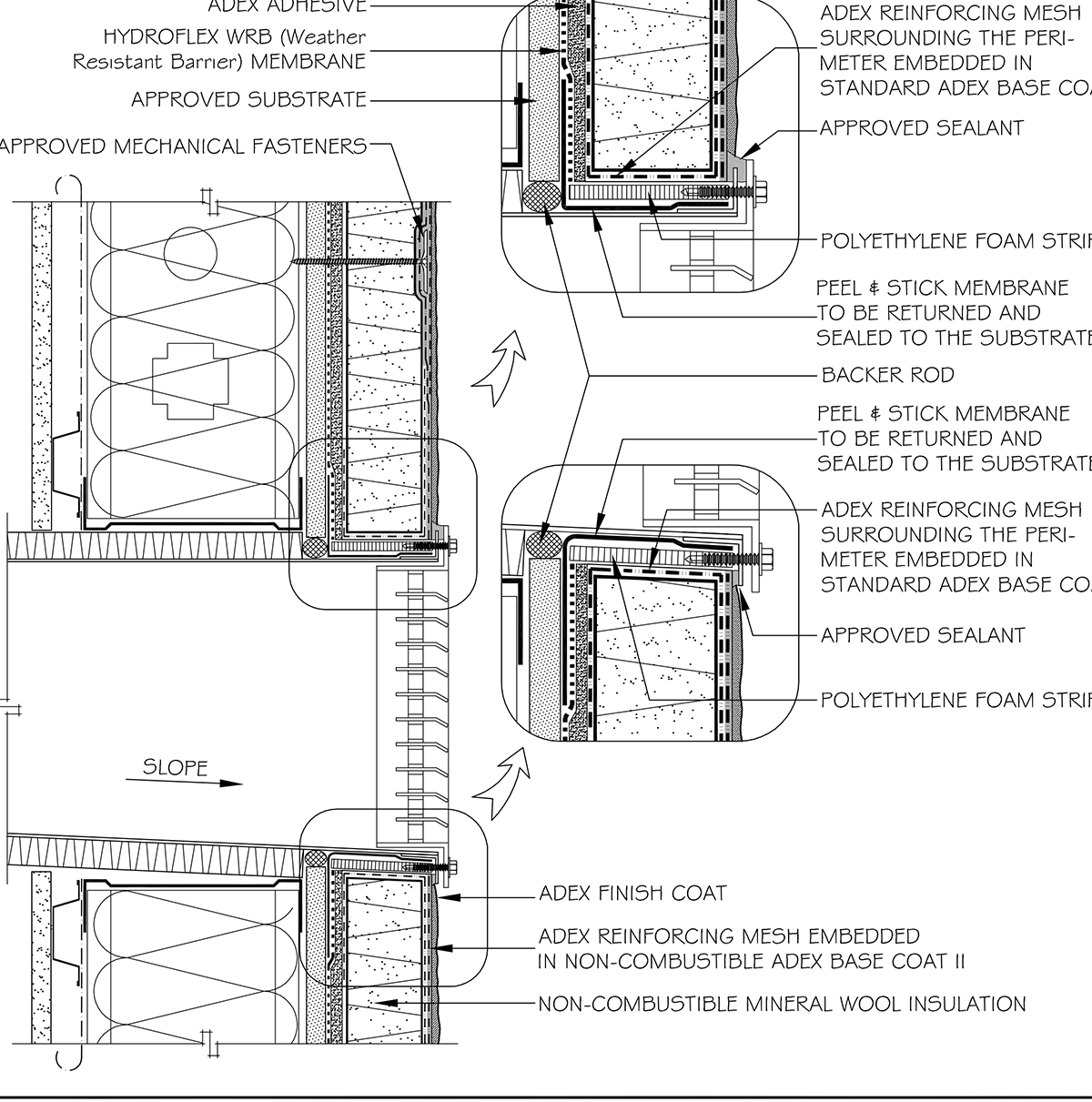 Xnc Insulation Sytem Adex Architectural Coatings