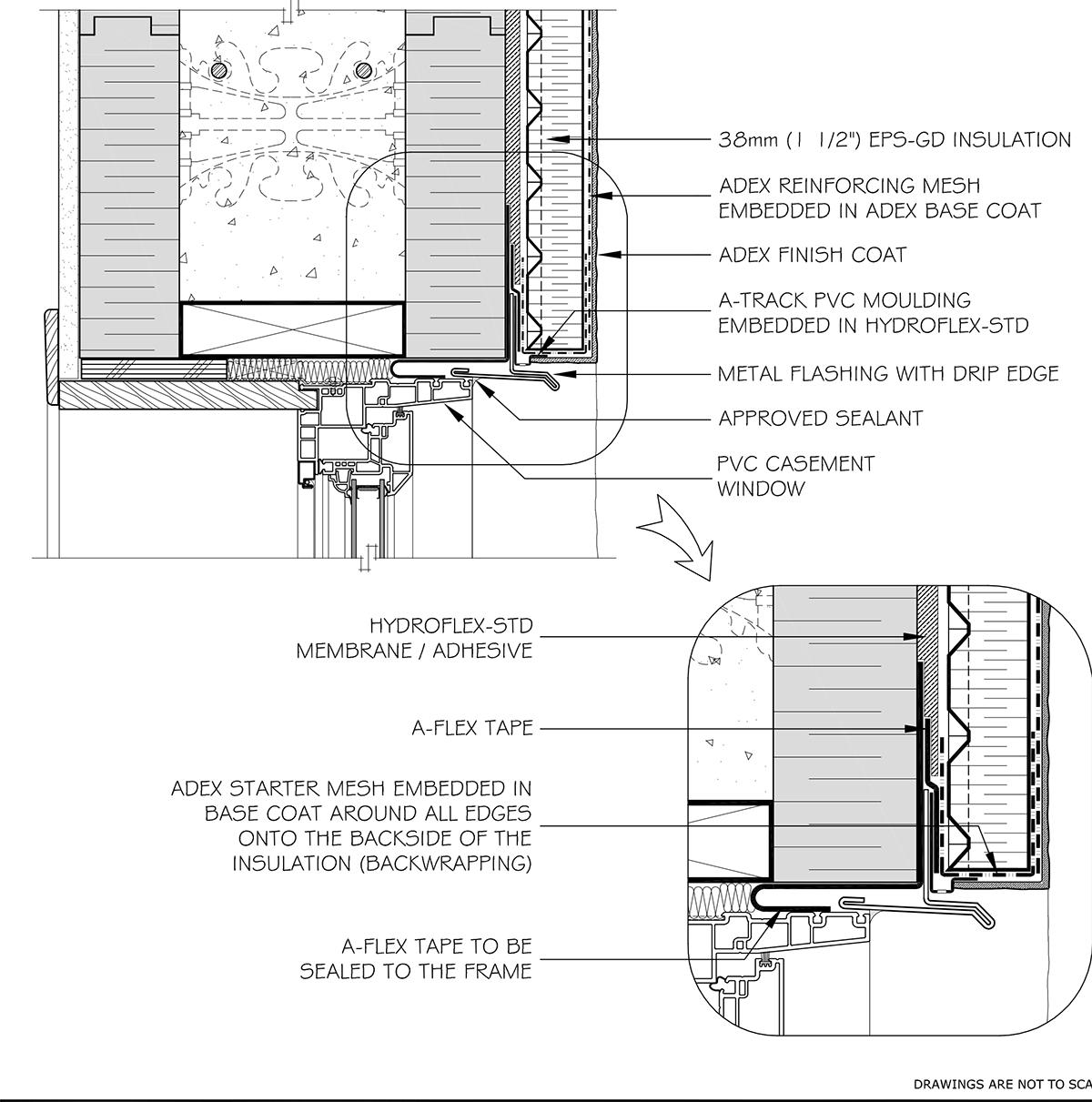 5 Window Head Pvc Adex