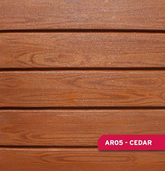 ARBORIA Woodgrain Finish